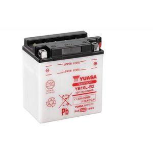 BATTERIE VÉHICULE Batterie YUASA YB10L-B2 conventionnelle