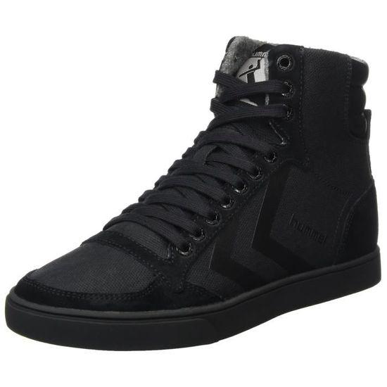 Hummel Toile lisse des adultes unisexe amincissante Stadil Salut-top sneakers 1H4R8V Taille-44 Noir Noir - Achat / Vente basket