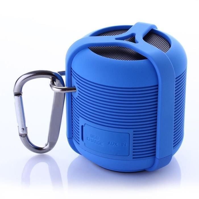 WE Enceinte Sport Waterproof - Bluetooth - 3W - Rouge