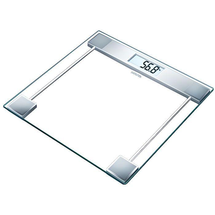 SANITAS 755.19 Pèse-personne en verre