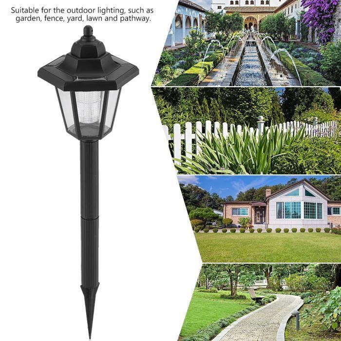 Lampe Solaire LED Voie Chemin Mur Montage paysager Jardin Decoration -- DQ  France