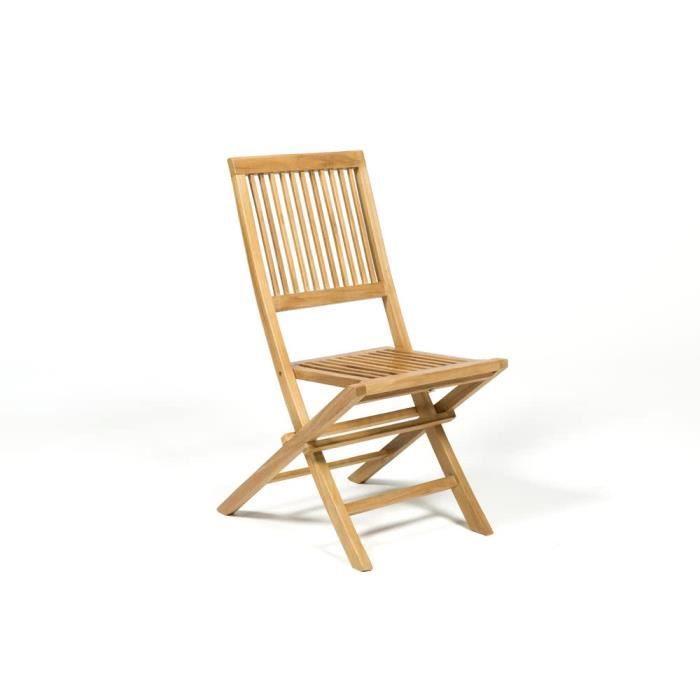 5ad03bdad6294d Chaise en teck - Achat   Vente pas cher