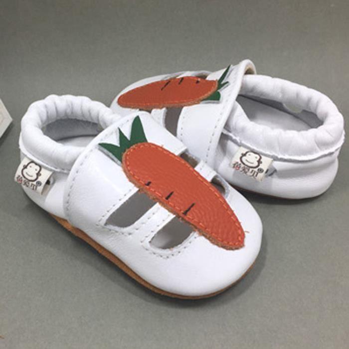 LICH Garçons et filles Chaussures de bébé pour tout-petits bébé doux bambinen Cuir Doux 9Peok8KHB