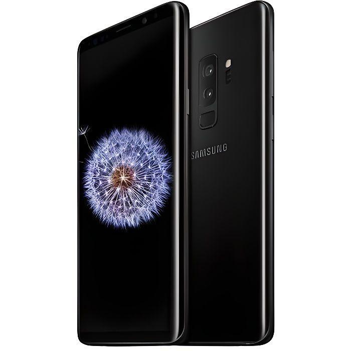 Samsung Galaxy S9 Noir Carbone - Achat smartphone pas cher, avis et ... 85753c7a45b9