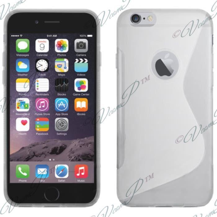 coque iphone 6 housse etui silicone gel