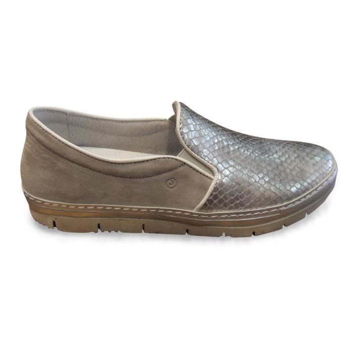 Gaga zigzag Haircalf Slip-on Loafer ZY7XU Taille-41 D79TOdgTO
