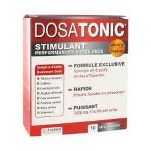 MÉMOIRE - TONUS 3C Pharma Dosatonic 10 Doses de 15 ml