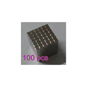 CUBE ÉVEIL 100pcs enfants Cube puzzle aimant puissant