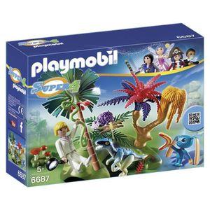 ASSEMBLAGE CONSTRUCTION Playmobil Super 4 Lost Island Avec Kit Alien et co