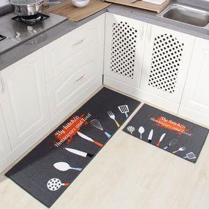tapis cuisine devant evier 60 sur 120 achat vente pas cher. Black Bedroom Furniture Sets. Home Design Ideas