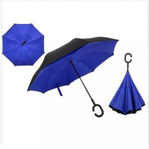 2828520aeae Parapluie inverse bleu - Achat   Vente pas cher