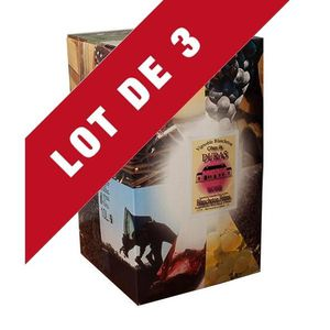 VIN ROSÉ 3X Bag-in-Box 10L Château Molhière Rosé AOC Côtes