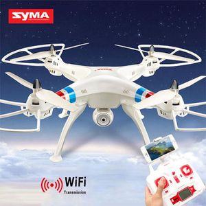 DRONE Blanc SYMA X8W  - Drone Caméra HD Wifi avec Retour