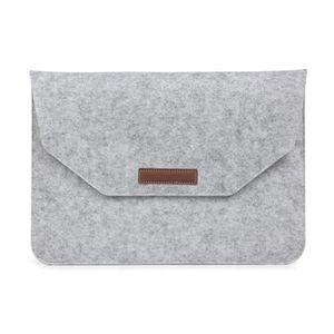 COQUE - BUMPER Sacoche ordinateur portable gris sac manchon feut