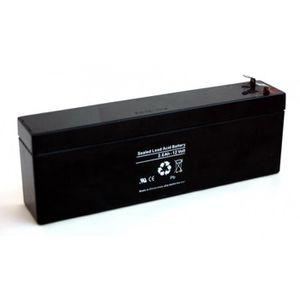 BATTERIE DOMOTIQUE Batterie plomb 12V 2.6Ah (179x35x65)