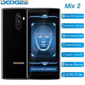 SMARTPHONE DOOGEE MIX2 Smartphone 4G Débloqué 6.0 Pouces avec
