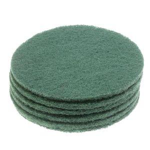 PIÈCE ENTRETIEN SOL  Lot de 6 disques verts abrasifs VD45 pour Cireuse