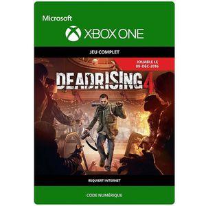JEU XBOX ONE À TÉLÉCHARGER Dead Rising 4 Jeu Xbox One à télécharger