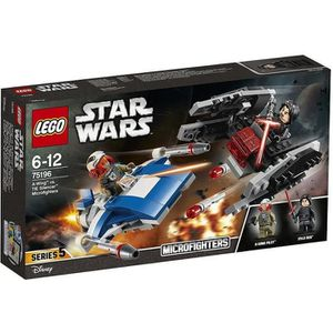 ASSEMBLAGE CONSTRUCTION LEGO® Star Wars™ 75196 Microfighter A-Wing™ vs. Si