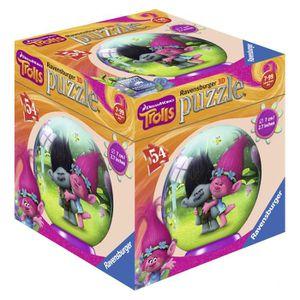 PUZZLE Trolls - Puzzle 3D 54 Pièces