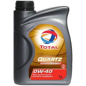 HUILE MOTEUR Huile Moteur Total Total 0W40 Quartz 9000 Energy 1