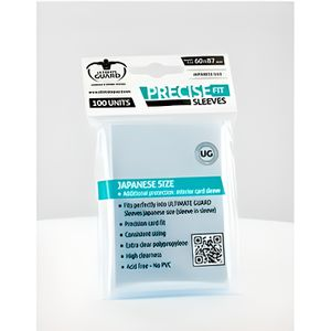 CARTE A COLLECTIONNER Ultimate Guard 100 pochettes Precise-Fit Sleeve...