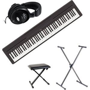 PIANO P45 > Pack Piano numérique compact > Noir + stand