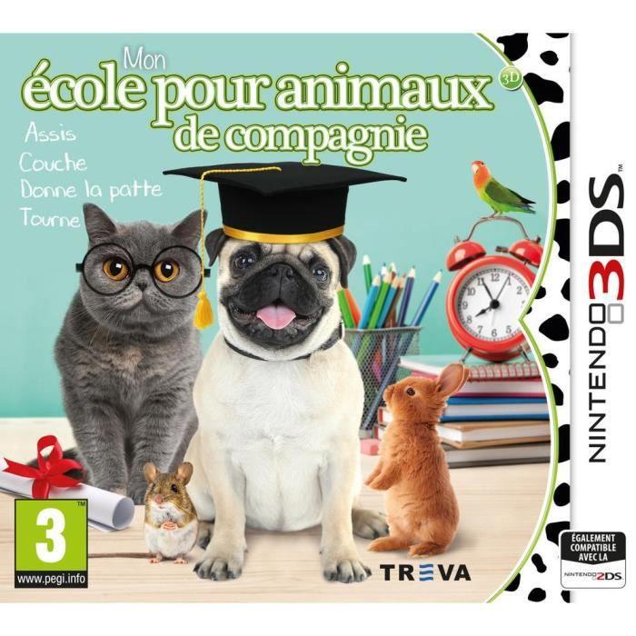Mon école pour animaux de compagnie Jeu 3DS