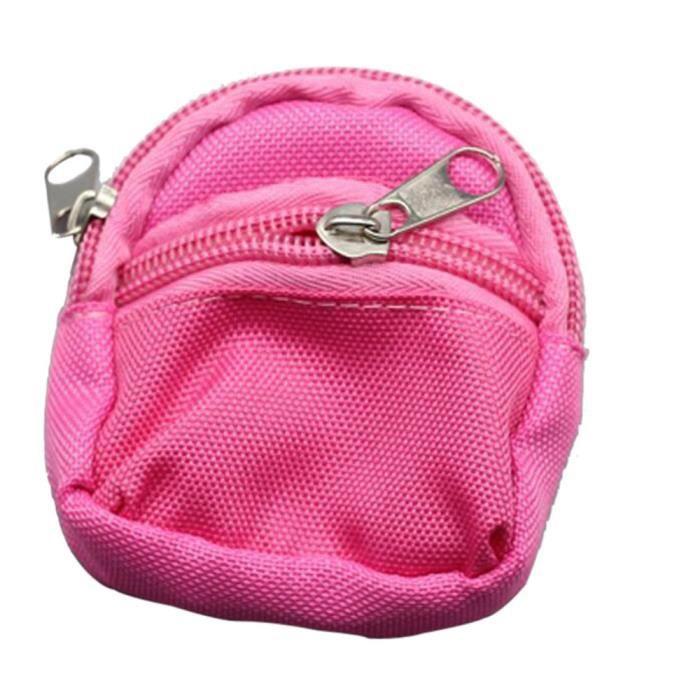 f9e6e7f3fb730 Mini Cartable Sac à dos Rucksack accessoires pour poupée Barbie Vêtements  HOT sutabak2965