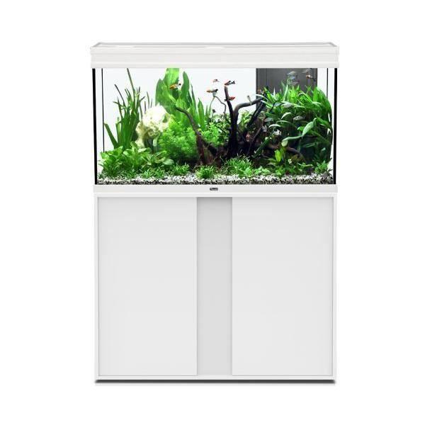 AQUARIUM Aquarium Elegance Expert 100x40 Led Blanc - Aquatl