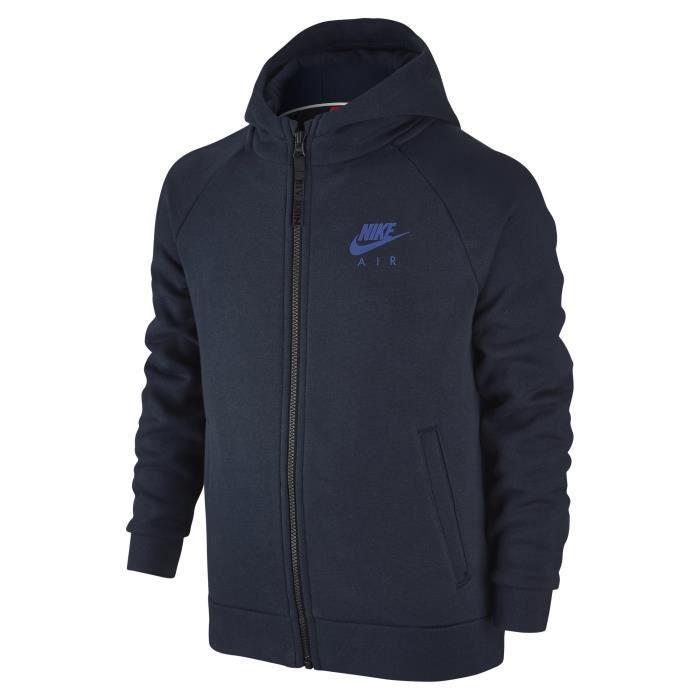 Capuche Hd Bleu Vêtements Sportswear À Veste Enfant Mixte Nike 1qwPvv