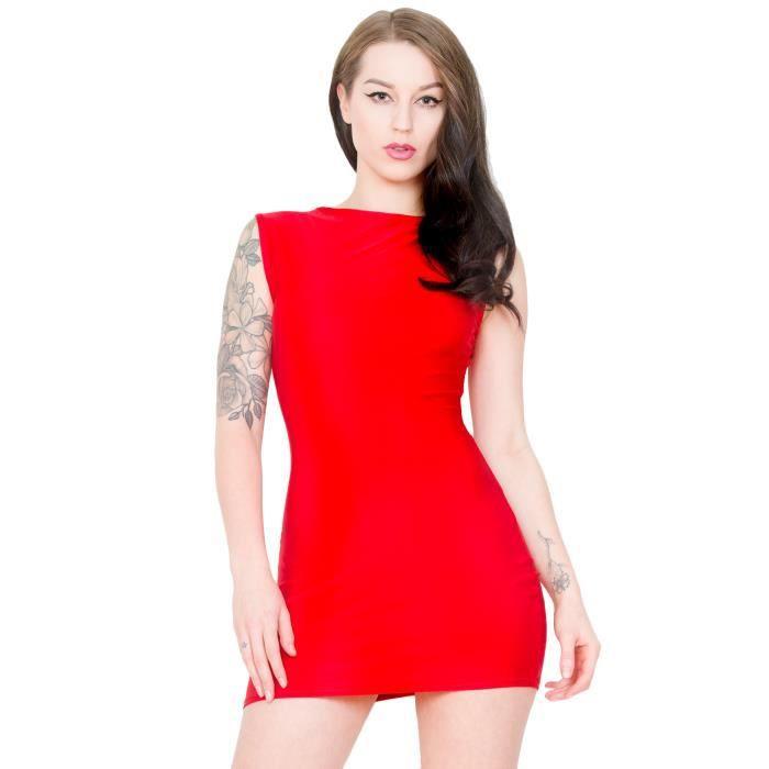 Ruby Romance Sleeveless Dress