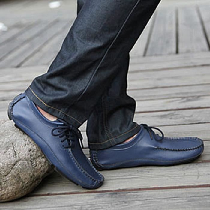 les Mode casual hommes Mode pour Mocassins chaussures casual plates 0Yqxw5CYE