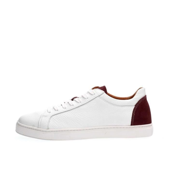 SELECTED SNEAKERS Homme WHITE, 42