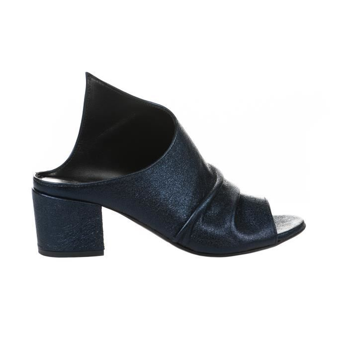 Mules femme - MIGLIO - Bleu - 1142 - Millim
