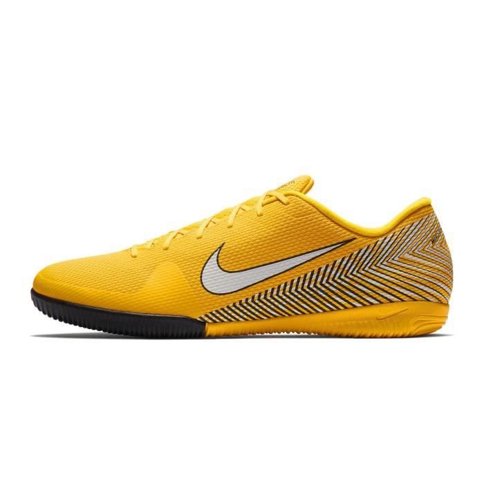 the latest 6d068 6ee20 Chaussures football Nike MercurialX Vapor XII Academy Neymar IC Jaune