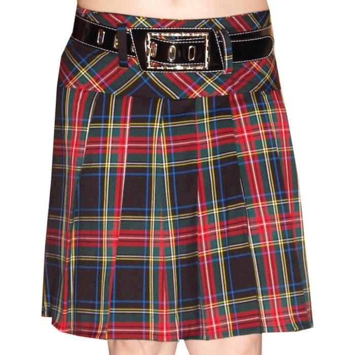 Jupe Vert Vert Jupe Écossaise Jupe Jupe Écossaise Femme Femme Écossaise Vert Écossaise Femme 3AqcL4R5jS
