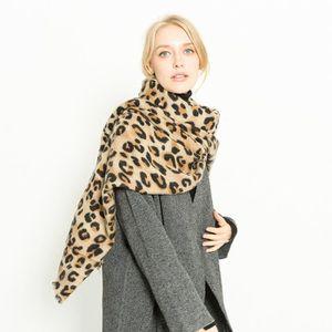 ... ECHARPE - FOULARD Femmes écharpes léopard cachemire écharpes chaudes ... eaabe6e0a89