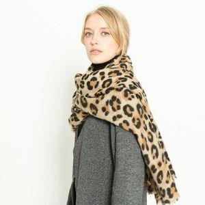 d63efe60cc6c ... ECHARPE - FOULARD Femmes écharpes léopard cachemire écharpes chaudes ...