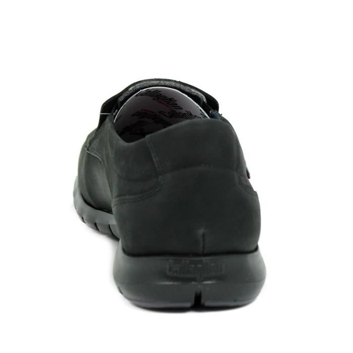 CALLAGHAN Chaussures Mocasín - elásticos - Piel - Noir - Taille - Quarante-deux Homme Ref. 3378_42255