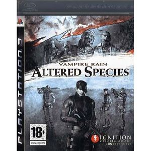 JEU PS3 Vampire Rain Altered Species Jeu PS3