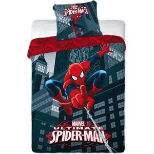 PARURE DE COUETTE Spiderman - Parure de lit housse de couette révers