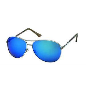 8793130dcdb114 LUNETTES DE SOLEIL Lunettes pilote Luxe verre miroirMiroir Bleu