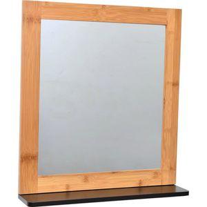 miroir de salle de bain achat vente miroir de salle de bain pas cher cdiscount page 4. Black Bedroom Furniture Sets. Home Design Ideas