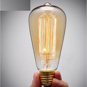ampoule filament led vintage achat vente pas cher. Black Bedroom Furniture Sets. Home Design Ideas