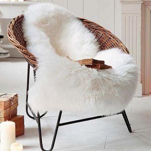 TAPIS Novatech Blanc 60x90cm Art Tapis Salon Carpet Tapi