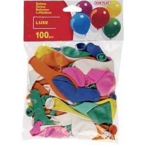 BALLON DÉCORATIF  KIMPLAY 100 ballons à gonfler assortis - Multicolo