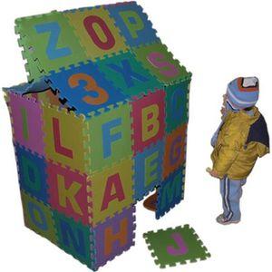 PUZZLE 86 pièces Puzzle Tapis Jeu Mousse 180x180cm Chiffr