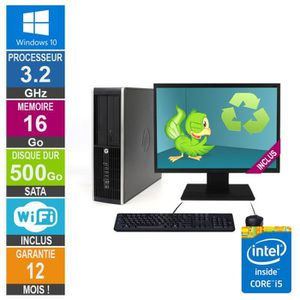 UNITÉ CENTRALE  PC HP Pro 6300 SFF Core i5-3470 3.20GHz 16Go/500Go