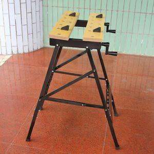 ETABLI - MEUBLE ATELIER Établi d'atelier réglable d'angle pliage multifonc
